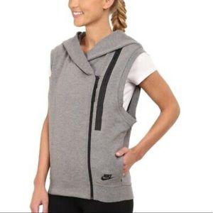 Nike Women's Tech Fleece Hooded Sport Casual Vest